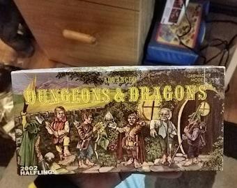 Halflings Advanced Dungeons & Dragons Complete Miniature Set