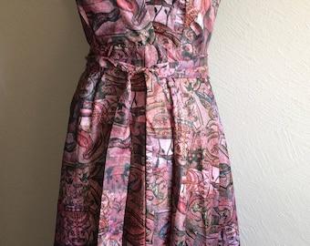 Handmade Wrap Apron Sun Dress
