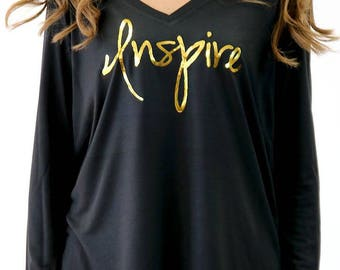 Inspire Long Sleeve Flowy