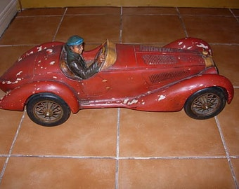 vintage large scale alfa romeo model car