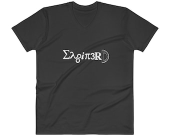 Enginerd Tee | Funny Engineer T-Shirt | V-Neck T-Shirt