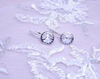 Serene Jewel Swarovski Crystal Drop Earrings