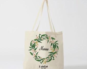 W4Y Tote custom bag, bag canvas tote bag bridesmaid, married wedding, custom Tote Tote Bag, tote bag evjf