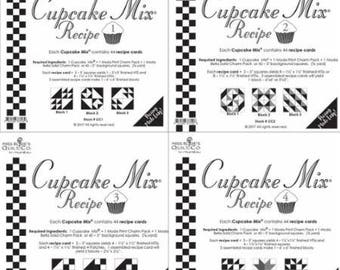Cupcake Mix Recipe by Moda Rosie Quilting Co. for Moda- 44 Papers to Piece Per Pad