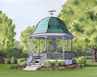 Terrace Park Gazebo in Terrace Park,  Ohio