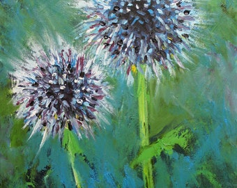 Floral 56 16x20inch print of oil painting by Roz