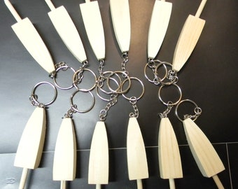 Crafters Miniature lobster buoys Key Rings