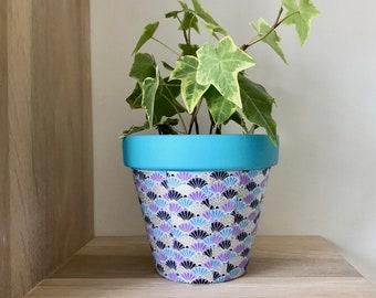 Washi flowerpot, Paper flowerpot, Clay flowerpot, home decor, flowerpots, Cactus flowerpot, Cubremaceta, flowerpots, pots