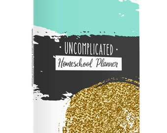 Undated, Reusable Printable Homeschool Planner