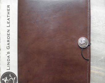 Handmade Leather Personalized Composition Book Cover
