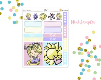 Rapunzel- Mini Sampler Planner Stickers