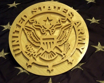 United States Army Plaque - Active Duty