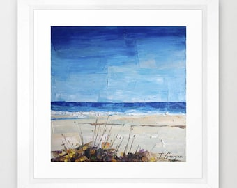 Coastal no.5 - limited edition of 50 - fine art Giclée print from my own original painting