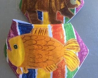 Brown Bear, Brown Bear - Goldfish, Goldfish Bib