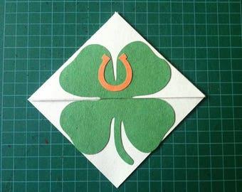 Laminated Irish Corner Bookmark