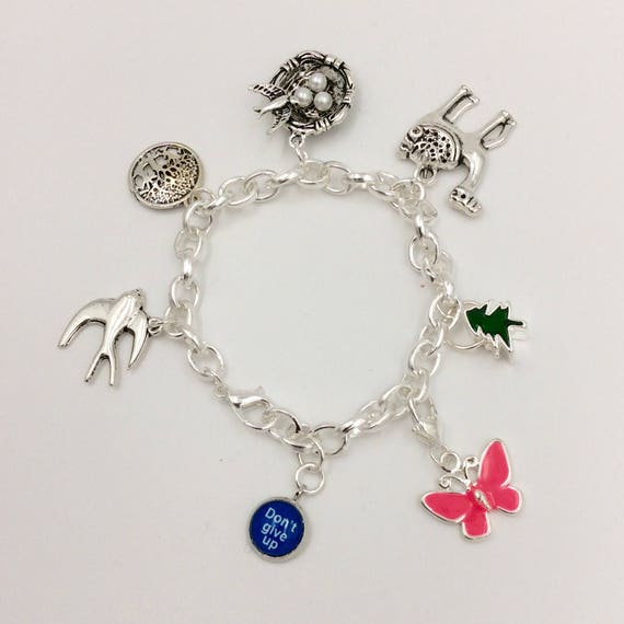 """JW """"Don't Give Up"""", Learn Endurance from Creation Saturday Symposium Bracelet."""