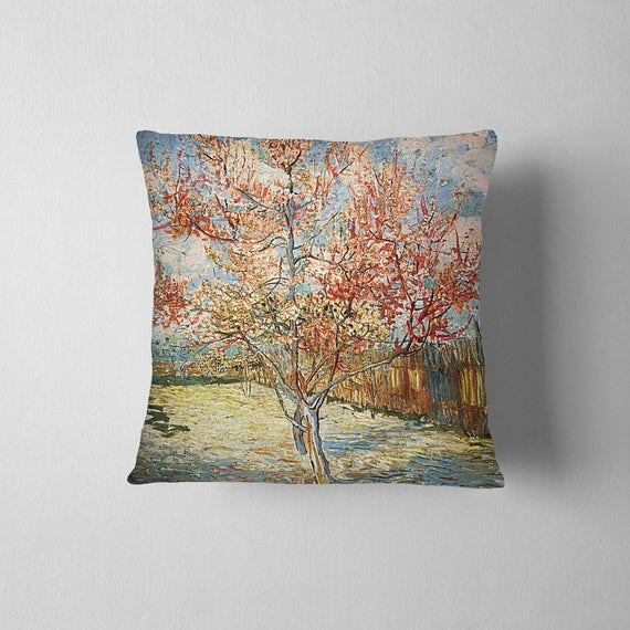 Canadian Inspired Home Decor Canada Pillow Via Etsy: Tree Van Gogh Painting Pillowcase Decorative Throw Pillow