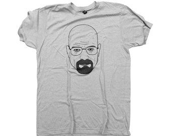 Walter White / Breaking Bad / Heisenberg T-Shirt / Heather Gray