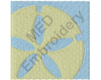 Sand Dollar - Machine Embroidery Design