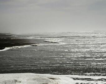 Plage, côte nord-ouest du Pacifique, amour, Couple, bord de mer - enveloppe de toile, dos solide, Tenture murale, décoration intérieure,