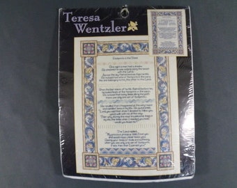 Teresa Wentzler Counted Cross Stitch Footprints #113958