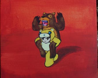 Fall out Boy, Folie a Deux Painting - Original