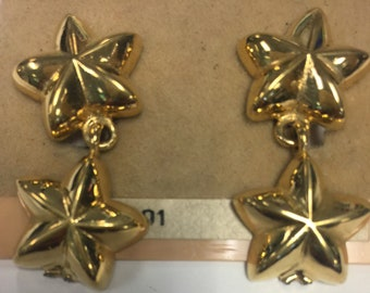 Vintage Givenchy for Neiman Marcus Star Earrings