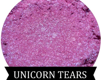 UNICORN TEARS Iridescent Purple Eyeshadow
