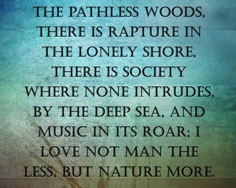 Lord Byron Quote. Downloadable