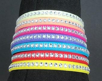 Handmade Diamanté Effect Headbands