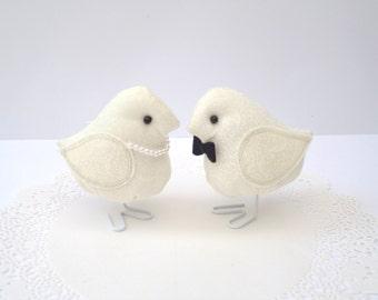 Seine und ihre Stoff-Vogel-set