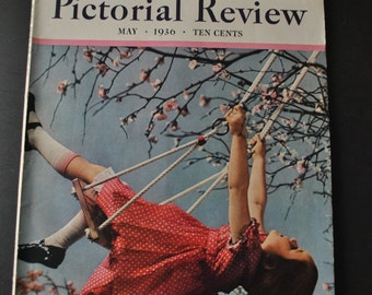 1936 Pictorial Review Magazine