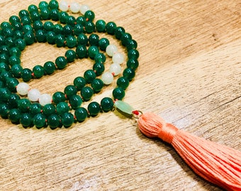 Calm & Tranquil Mala Necklace