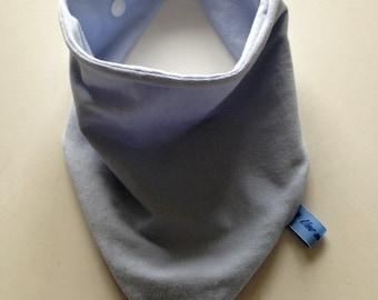 Blue Bandana bib