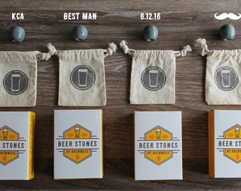 Beer Stones - Groomsmen Gifts - Elevate Beer for the Wedding Party