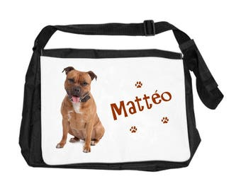 Pitbull bag personalized with name