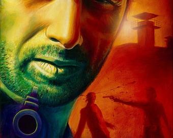 "Rick Grimes 11"" x 14""  Walking Dead poster"