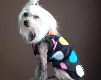 Spot-On Polar Fleece Sleeveless Mockneck Dog Sweater - RLS84
