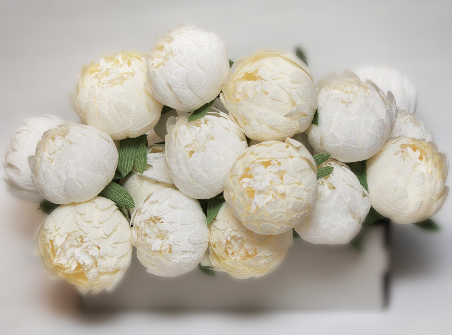 Paper flowers with stems peonies bouquet paper flower bouquet zoom izmirmasajfo Images