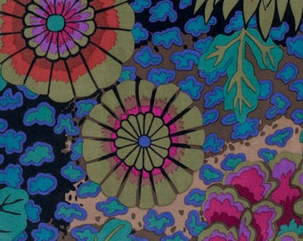 DREAM in Dark pwgp148 - Kaffe Fassett Collective for Free Spirit Fabrics - By the Yard
