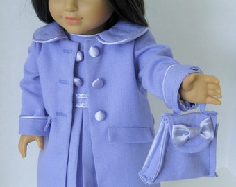 Lovely Lilac! Coat and Dress Ensemble (DS11A)