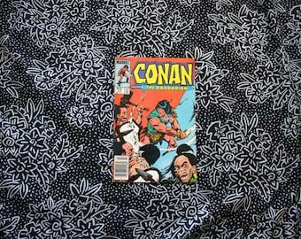 Conan The Barbarian #172 Vintage Marvel Comic Book. 1985 Barbarian Fantasy Bronze Age Comic. 80s Conan Barbarian Comic