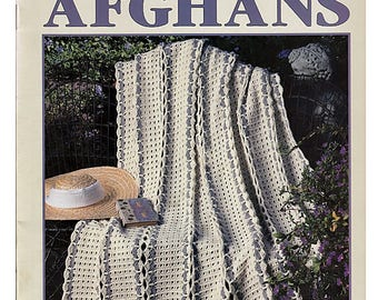 Strip-a-Day Afghans To Crochet Pattern Book Leisure Arts 2990