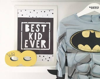 Personalised Freestanding Superhero Masks