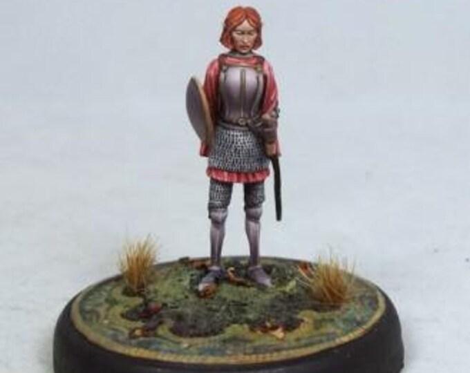 DiTerlizzi Masterworks: Tara Swiftblade, Female Elven Warrior w/Sword & Shield - 4604 - Dark Sword Miniatures