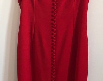 Red Hot Vintage Stunner Dress