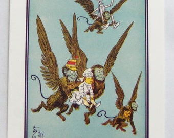 The Wonderful Wizard Of Oz Flying Monkeys Note Card From 1989 The Metropolitan Museum Of Art L Frank Baum
