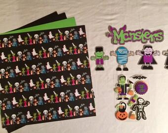 Monsters Scrapbooking Kit