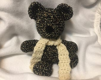 Crochet Teddy Bear; Handmade by KCCrochetGuy
