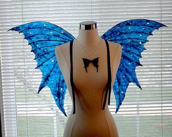 Fairy Wings-Blue Arwen Fairy Wings  (Made to Order by Request)